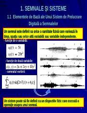 semnale binare de la la
