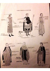 Survey of Historic Costume 5th edition Early Medieval Costume Identification