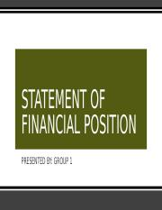 STATEMENT OF FINANCIAL POSITION [Autosaved].pptx
