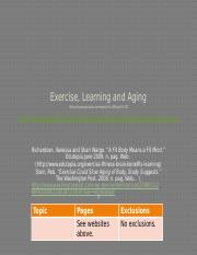 HealthLecture23-ExerciseLearningAging-TeachingNotes.pptx