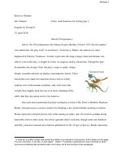 Evolution Vs. Creationism Paper.pdf