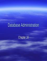 Database Administration.ppt