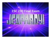 Final Jepardy