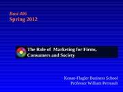 Perreault-The role of marketing 2012