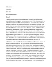 Comm-335 Written Assignment 2