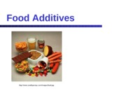 Food Additives_Dr Kantor 2012