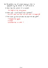 MATH 11 Graphical Solutions of Quadratic Equations Notes