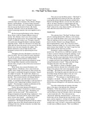 ap english character analysis essay