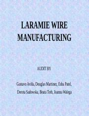 Case 8.1 Laramie Wire Manufacture Group 3 Final