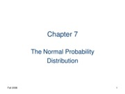 Normal Probablitity