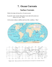 Ocean Currents Notes