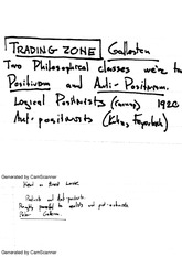 Notes on Gallison and Latture