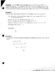 AND Probability Questions
