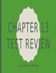 Chapter 13 Test Review.pptx