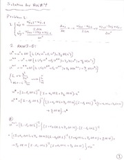 Solution of  HW4[1]