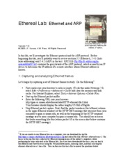 LAB2_Ethereal_Ethernet_ARP