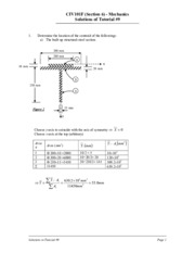 civ100 solution + - civ100 civil engineering system click to collapse  other topics include  thermo chemistry, gas laws, properties of solution, and inorganic coordination.