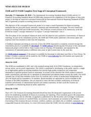 NEWS RELEASE 09 IASB and US FASB