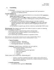 Bus Law-Old Prelim II Outline 2