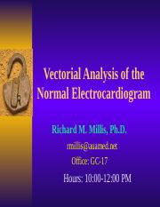 Vectorial Analysis of the ECG.ppt