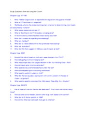 ENY Study Questions- 4