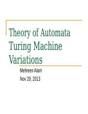 Lec 18 Turing Variations.ppt