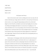 English 201 Unit Two Essay.docx