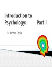 Intro Psych Introduction and History 2015