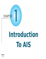AIS - Chapter 1 - Introduction to AIS - Student.pptx