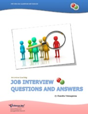 Job Interview Questions by GeekInterview