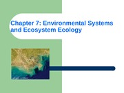 ES Chapter 7 Ecosystem Ecology with pictures