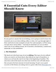 8 Essential Cuts Every Editor Should Know.pdf