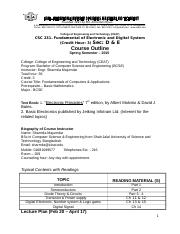 CSC-231_Reading_materials_of_FEDS_Spring_2015