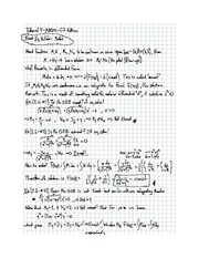 Exam 4 solution on Differential equations