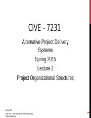 CIVE 5231Lecture2SPRING2016