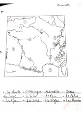 French provinces worksheet