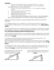 Force and Acceleration Test Review
