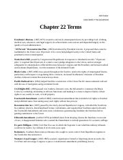 APUSH Chapter 22 Terms.docx