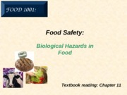 9. Food Safety