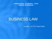BUSINESS LAW2
