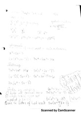 college algebra - review notes