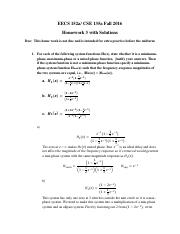 homework #3 with solutions