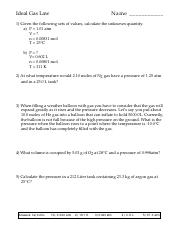 Gas Laws Worksheet answer key.pdf - Name_Date_Period Gas ...