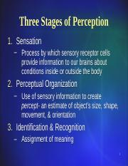 Intro to Psychology 4 Sensation & Perception REVISED.ppt