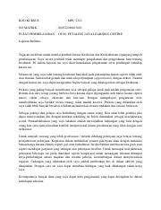 Laporan Reflektif Mpu 2312 Kesihatan Kesejahteraan Docx Diploma In Islamic Studies With Education Semester Mei 2019 Mpu 2312 Kesihatan Dan Course Hero