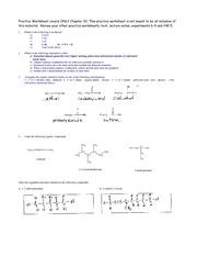 06 practice worksheet for organic chemistry 1 2 or 3 alcohol ether aldehyde 1 2 or 3 amine. Black Bedroom Furniture Sets. Home Design Ideas