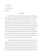 Cause And Effect Essay Thesis  Pages Animal Testing Essaydocx Buy Custom Essay Papers also Synthesis Essay Topics Animal Testing Essay  Venereo  Deylin Venereo Period  Miranda The  Sample Of An Essay Paper