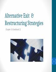 Lecture 9 Alternative exit and restructuring strategies.ppt
