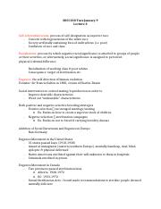 SOCI 230 Sociology of Ethnic Relations notes