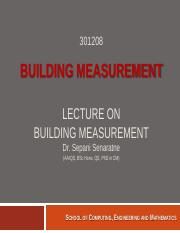 3-Lecture on Basic Building Measurement(2).pdf